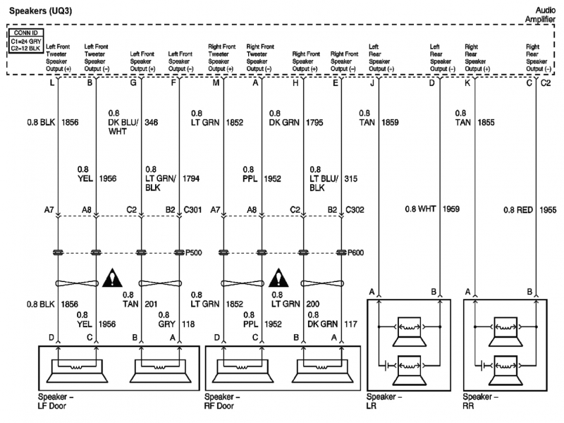 2003 impala stock radio wiring diagram - wiring forums 2003 impala wire diagram