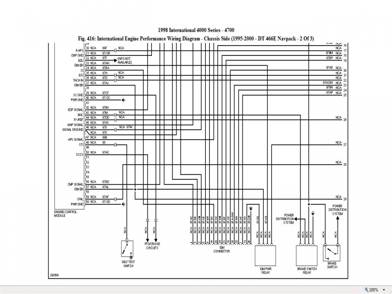 2000 international 4700 wiring diagram - somurich com on international  dt466 truck wiring diagrams,