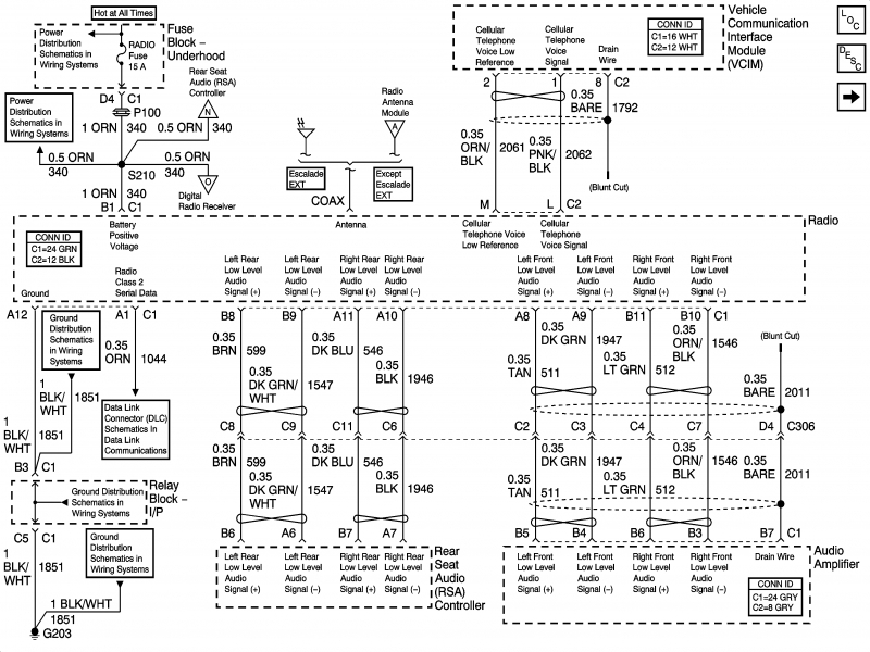 2004 Silverado Bose Radio Wiring Diagram | Find image on