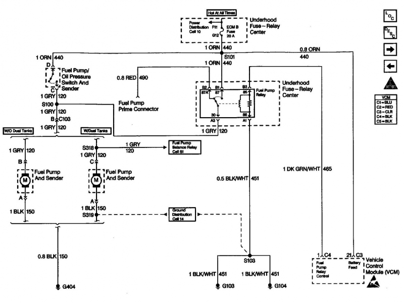 2003 Chevy Silverado Fuel System Diagram  Wiring Forums