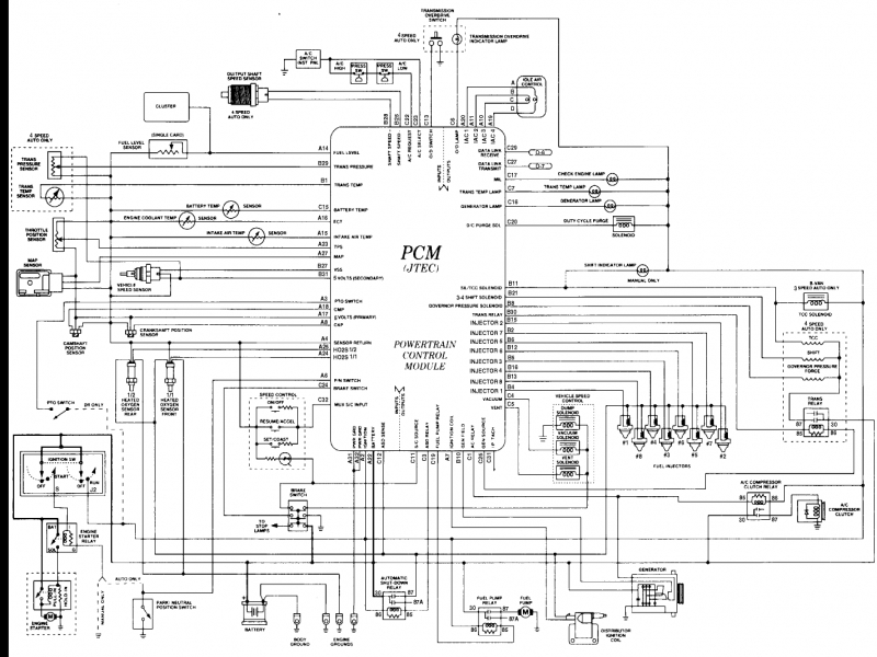 dodge spirit radio wiring diagram