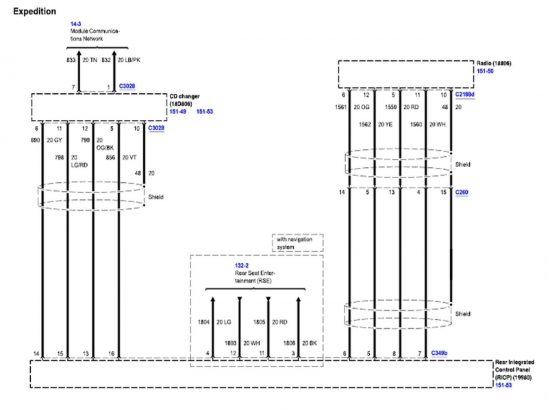 35 2003 Ford Expedition Stereo Wiring Diagram - Wiring ...
