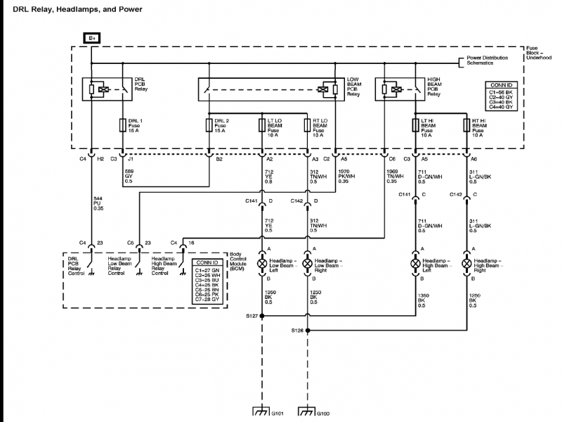 2007 Chevy Impala Headlight Wiring Diagram  Wiring Forums
