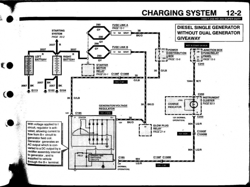 Marvellous Ford Motorcraft Alternator Wiring Diagram Photos - Best ...