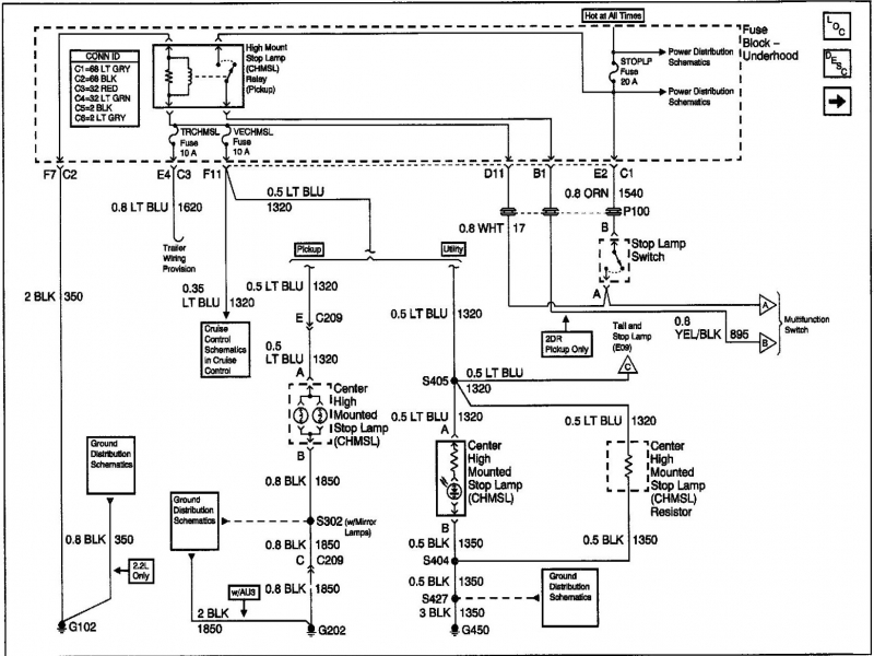 wiring diagram for 2002 chevy blazer