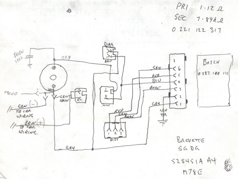 Bosch Electronic Ignition Wiring Diagram Wiring Forums