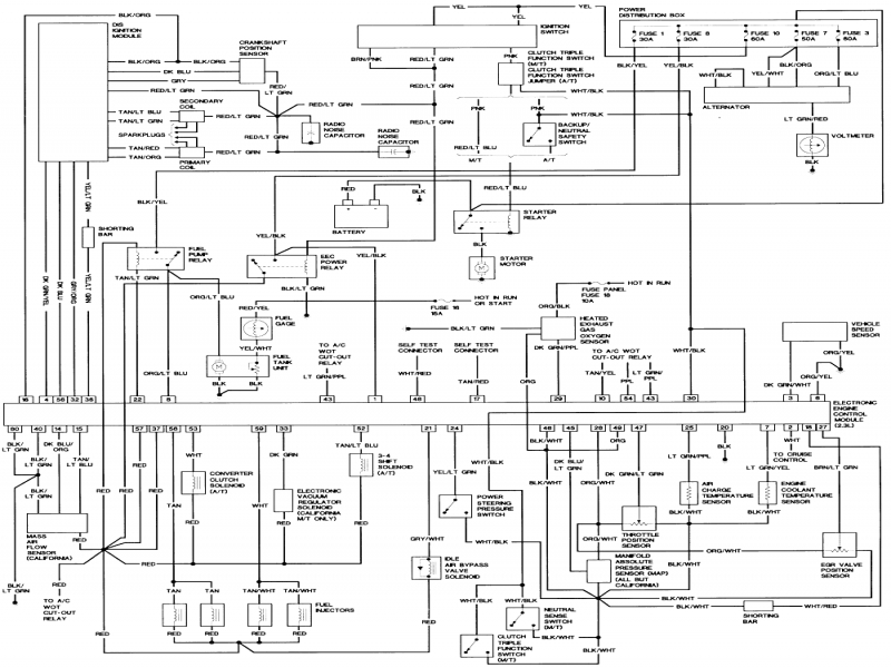 1992 Ford Ranger Wiring Diagram  Wiring Forums