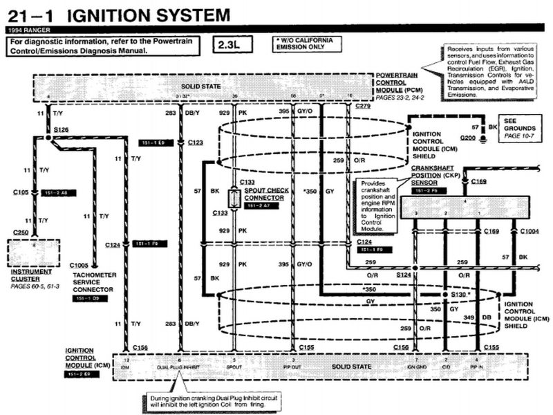 94 Ford F 250 Wiring Diagram Wiring Forums
