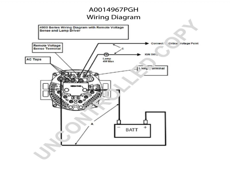 International Alternator Wiring Diagram