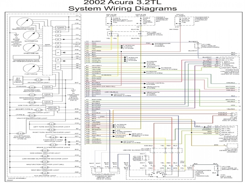 2000 Acura Tl Bose Lifier Wire Diagram  Wiring Forums