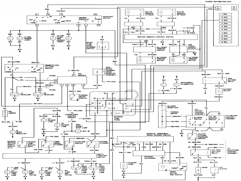 Acura Integra Wiring Diagram Wiring Diagram Collection