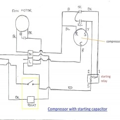 Hard Start Capacitor Wiring Diagram Kusudama Ball Air Conditioner Kit Throughout - Forums