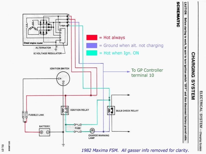 Hitachi Alternator Conversion Wiring Diagram