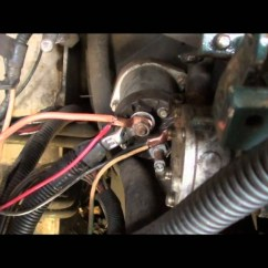 Glow Plug Wiring Diagram Single Phase Manual Transfer Switch Bobcat 743 Replacement Part 2 - Youtube Forums