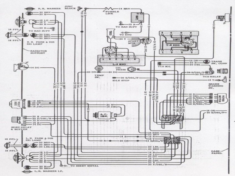 1972 Camaro Air Conditioning Wiring Diagram