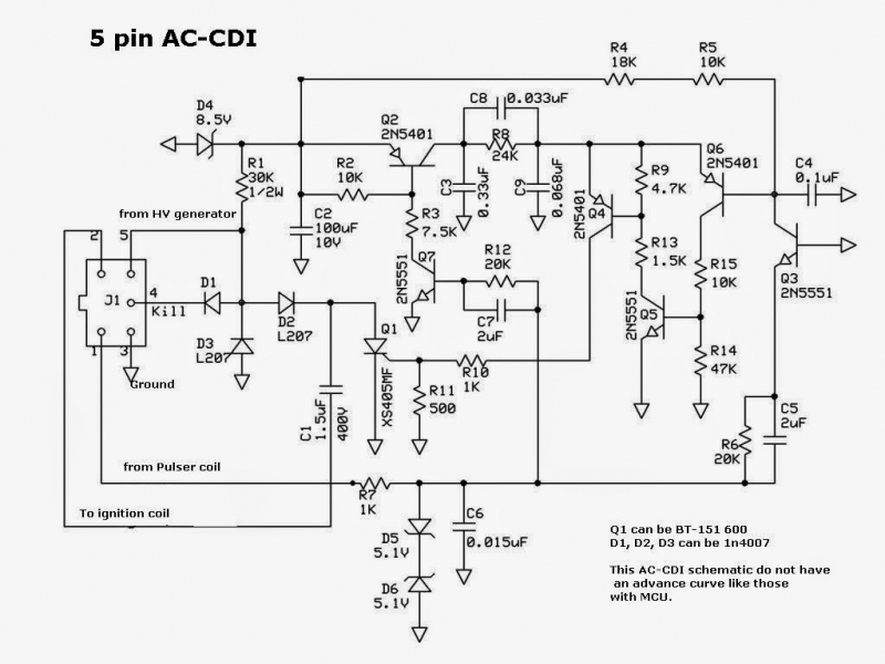 Old Fashioned Cdi Wiring Diagram Kawasaki Lakota Ensign - Simple ...