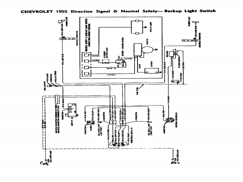 1957 chevy ignition switch diagram