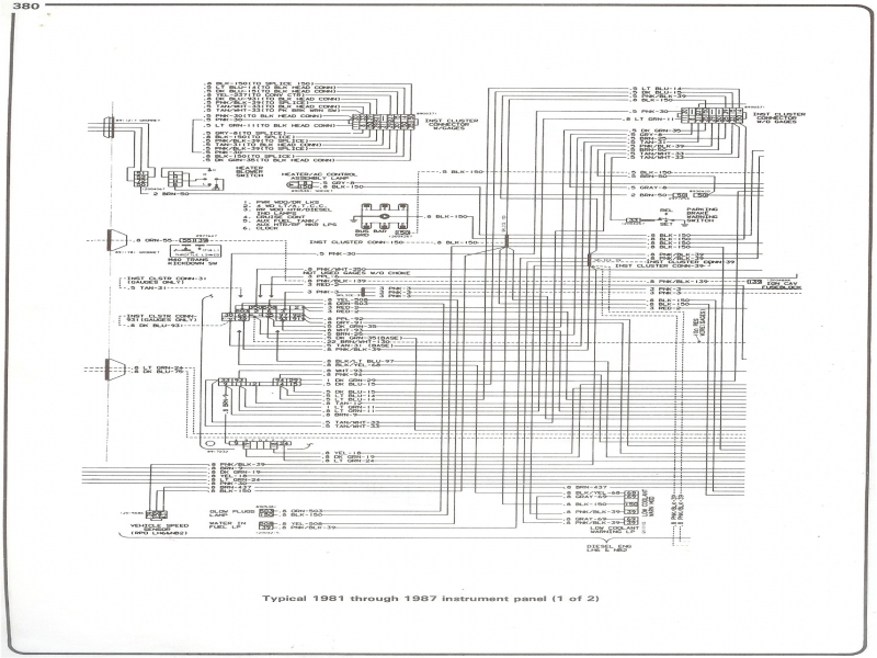 87 c10 wiring diagram 1982 chevy c10 wiring diagram #8