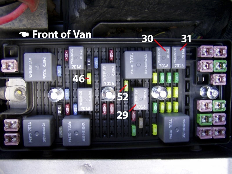 Ford Freestar Fuse Box Diagram Together With Electrical Wiring Diagram
