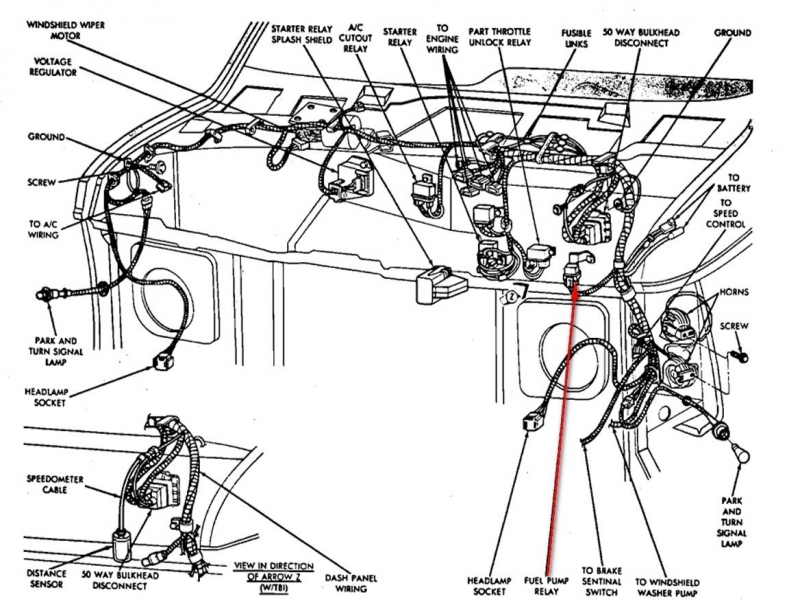 1993 geo tracker wiring diagram