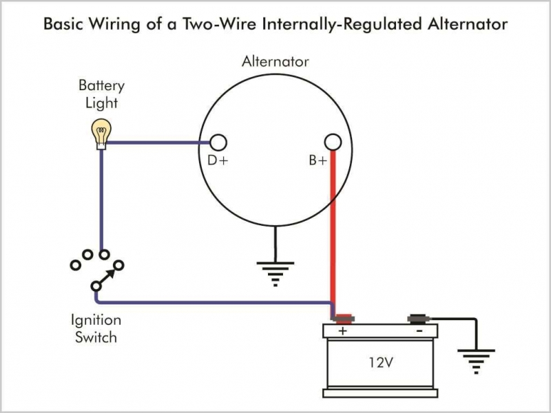 one wire alternator conversion wiring diagram - wiring forums acdelco one wire alternator wiring diagram #7