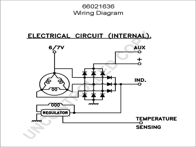 Gm Internal Regulator Alternator Wiring Diagram