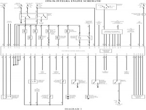 Diagrams#10001383: 1994 Acura Integra Wiring Diagram – 1996  Wiring Forums