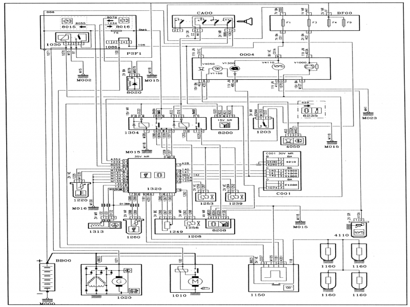 Peugeot 206 Wiring Diagram User Manual : Manual peugeot fuel injection system wiring diagrams