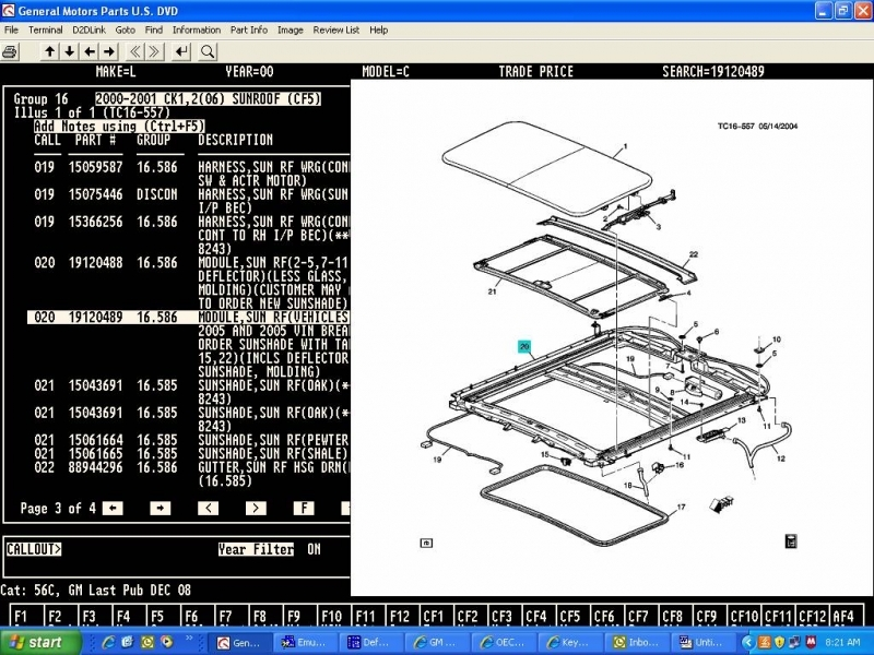2003 Chevy Avalanche Sunroof Wiring Diagram