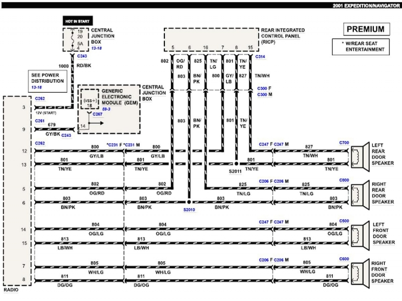 Exciting 2001 Ford Expedition Wiring Diagram Photos