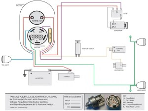 Farmall M Tractor Wiring Diagram  Wiring Forums