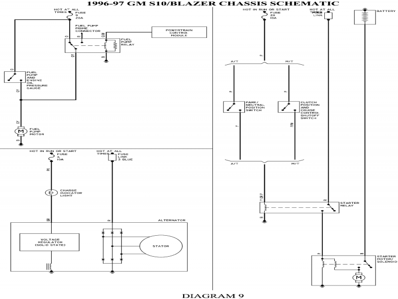 Comfortable 96 S10 Fuel Pump Wiring Diagram Photos - Electrical and ...