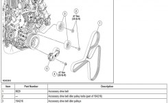 Ford F150 & F250 How To Replace Idler And Tension Pulleys – Ford