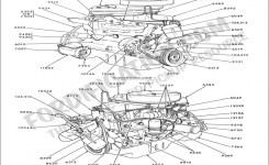 Ford Truck Technical Drawings And Schematics – Section E – Engine