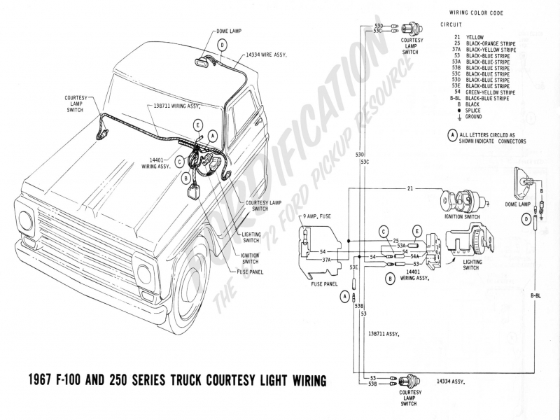 1972 Ford Ignition Switch Wiring Diagram - Wiring Forums