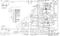 Ford Truck Technical Drawings And Schematics – Section H – Wiring