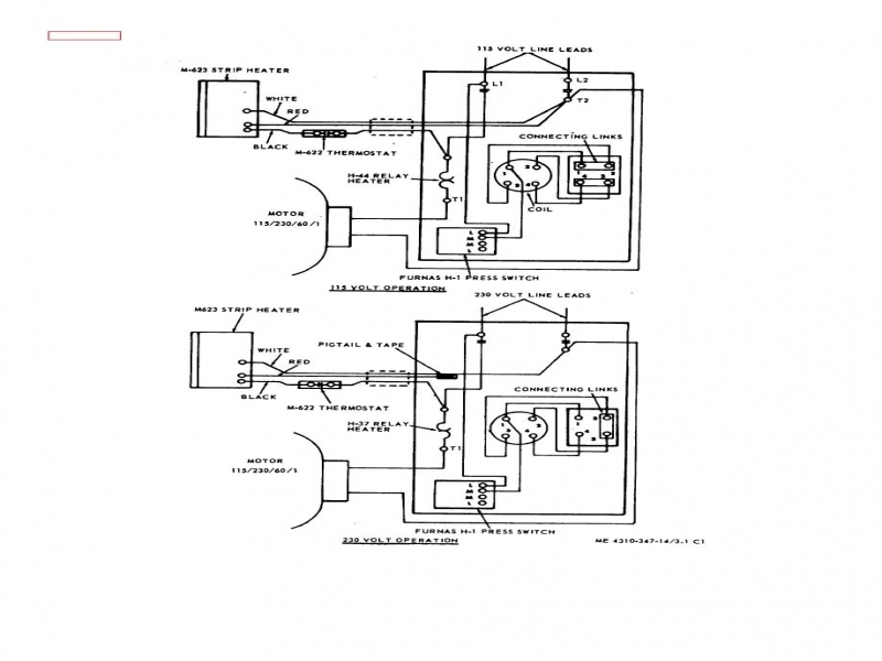 General Electric 115 230 Motor Wiring Diagram - All Diagram ... on