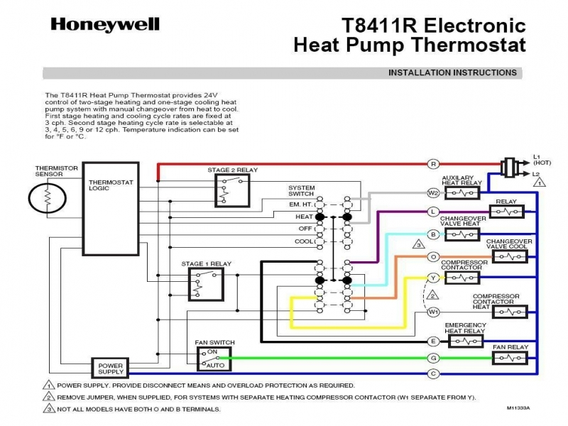 Coleman Heat Pump Thermostat Wiring Diagram
