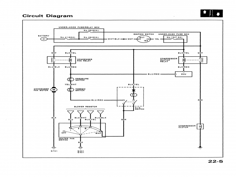 Air Conditioner Pressor Wiring Diagram