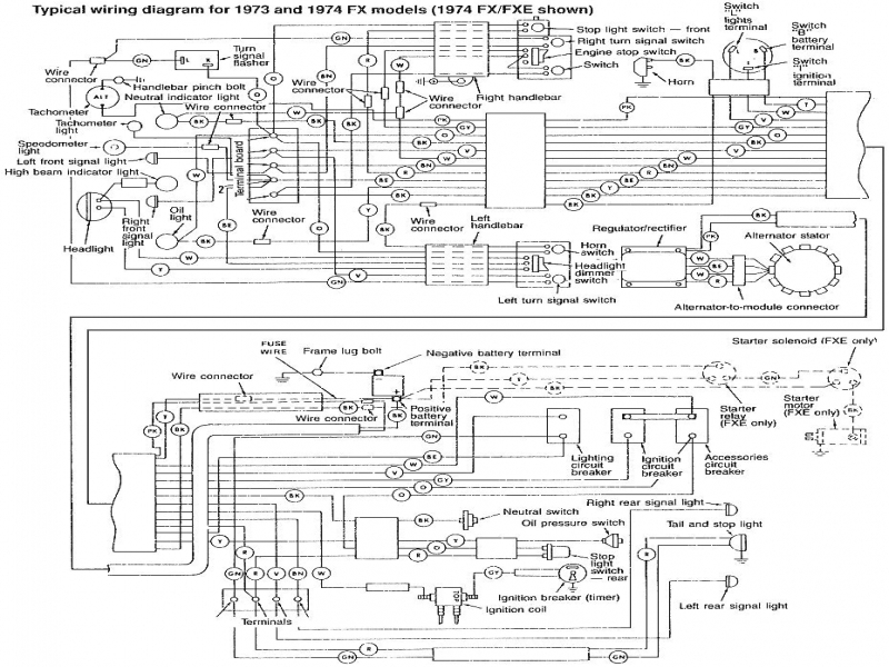 Wiring Diagram 97 Sportster Turn Signal Relay