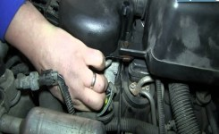 How To Install Replace Tps Throttle Position Sensor Vortec 5.7L