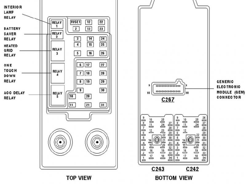 1997    Ford    Expedition Xlt Fuse Box    Diagram     Wiring Forums
