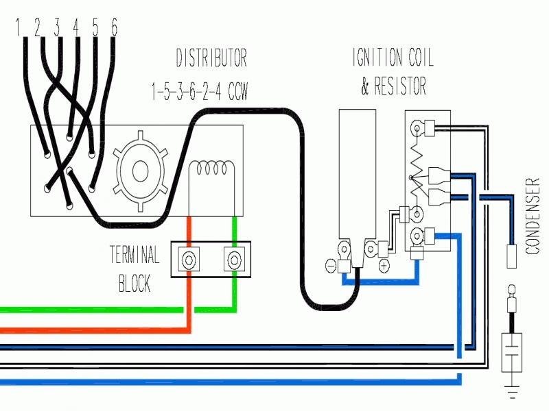 Wiring Diagram Ignition Coil Resistor : Ignition coil ballast resistor wiring diagram agnitum