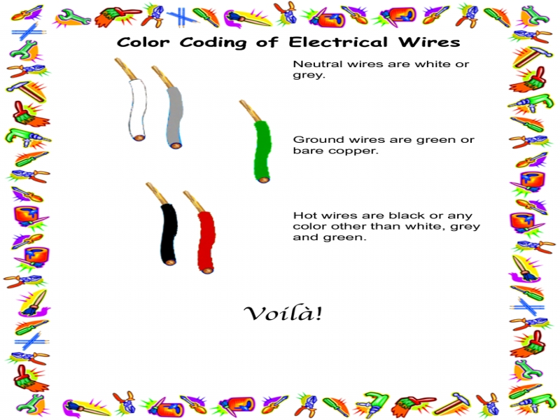 Exelent Neutral Wire Color Code Frieze - Electrical and Wiring ...