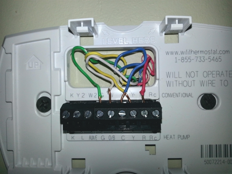 Wiring Diagram Honeywell Wifi Thermostat