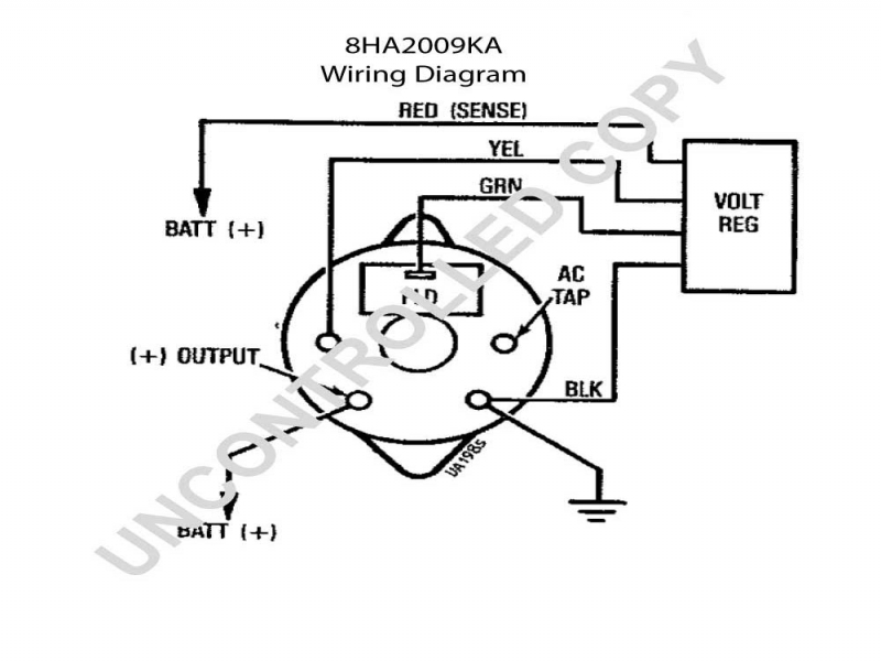 Diagram Brushless alternator wiring diagram Diagram