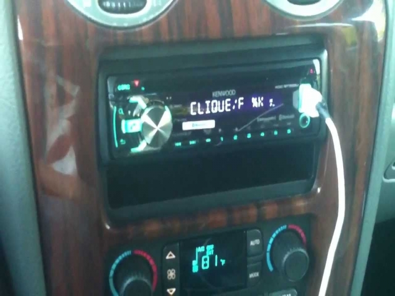 Kenwood Radio In Gmc Envoy Xl Slt W Bose Speakers And Amp Youtube on Headlight Wiring Harness Diagram