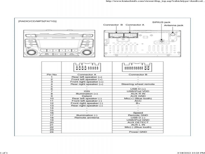 Kia Amanti Infinity Stereo Wiring Diagram  Wiring Forums