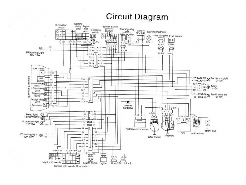 Ktm Duke Wiring Diagrams  Wiring Forums