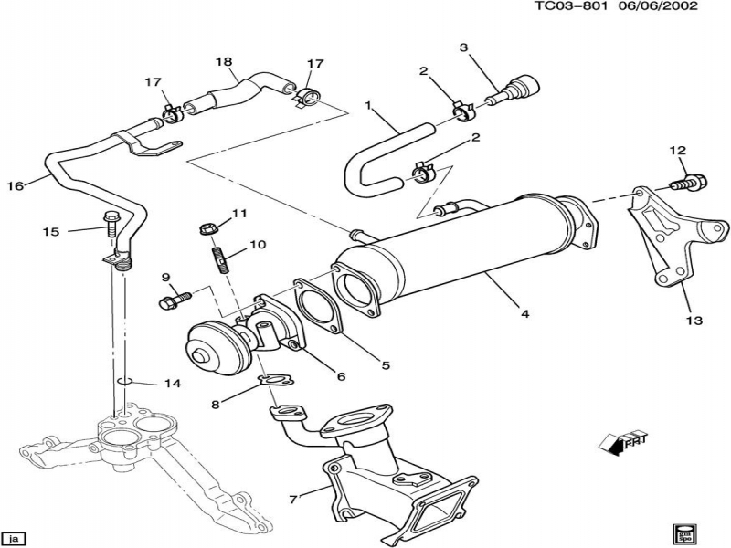 duramax sel parts diagram